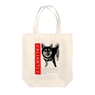 Cute watchdog Tote bags