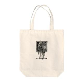 DISORDER(mono) Tote bags