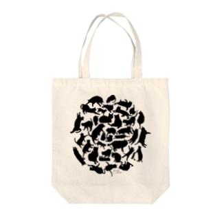 猫影団子 Tote bags