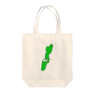 これが対馬 Tote bags