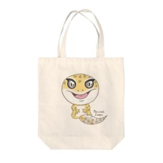 おすわりレオパ(ハイタン系) Tote Bag