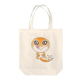 おすわりレオパ(スーパーハイタン系) Tote Bag