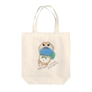 ちょいおこゼノガマ Tote bags