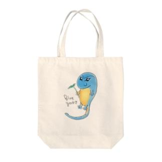 癒しのブルーゲッコー Tote Bag