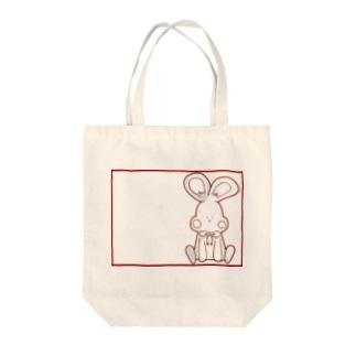 可愛いうさぎ Tote bags