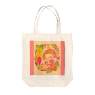 実りの秋 葡萄🍇 Tote bags