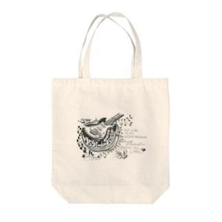 ストラトキャスター Tote bags