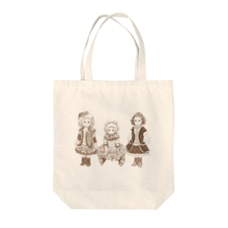 DOLL Tote bags