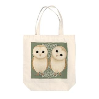 メンフクロウさん Tote bags