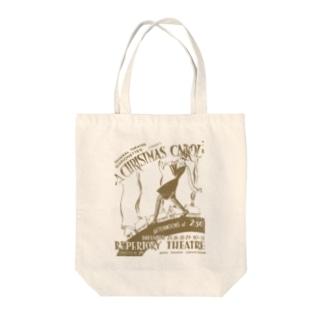 ヴィンテージポスタートートバッグ(christmas carol) Tote bags