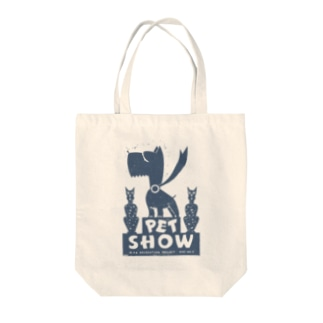 ヴィンテージポスタートートバッグ(Pet Show) Tote bags