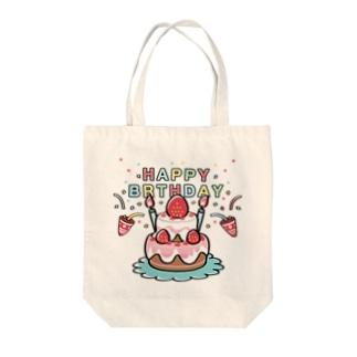 HAPPY BRTHDAY  Tote bags