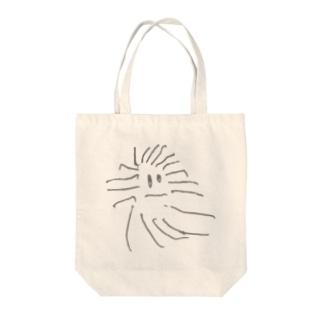 クモのモクちゃん Tote bags