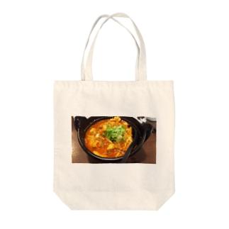 なんか、辛い豆腐 Tote bags