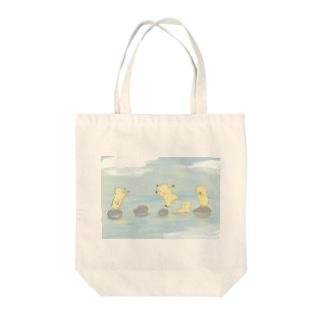 飛び石 Tote bags