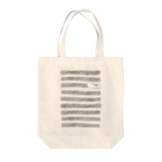ボーダーの住人 Tote bags