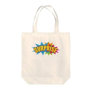 SURPRISE Tote bags