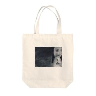 人魚の聖母子♡ Tote bags