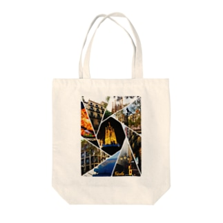 travel art in Spain Tote bags