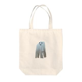息子作イカ Tote bags