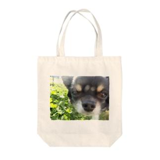 コンデジで撮ったミルくん Tote bags