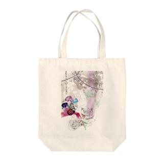 花蝶 Tote bags