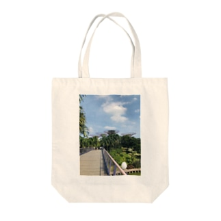 Gardens by the Bay in Singapore Tote bags