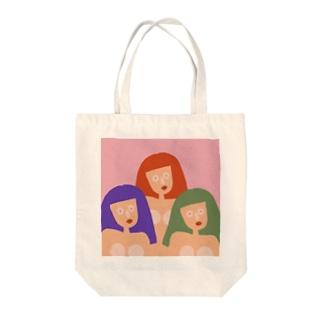 3姉妹の秘密。 Tote bags