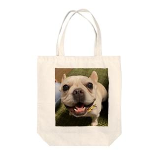 ピーちゃん Tote bags