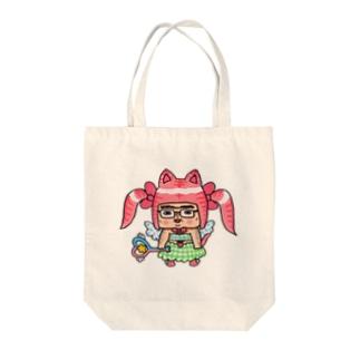 魔法少女たけし Tote bags