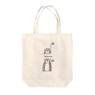 カニの行動 Tote bags