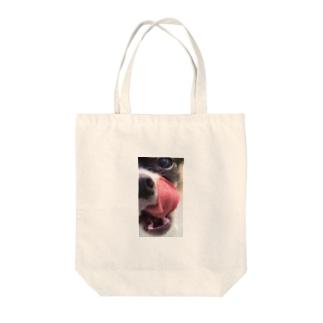 むぎ Tote bags