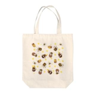 ミツバチモルモット03 Tote bags