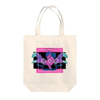 偶像崇拝症候群 Tote bags