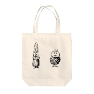 ウルシオさんとラッカさんとH2O Tote bags