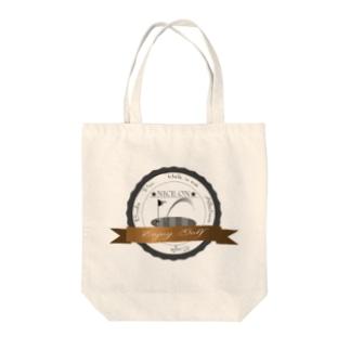 ナイスオン エンブレム Tote bags