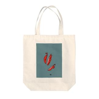 心臓の切り身 Tote bags