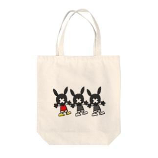 うさぎ Tote bags