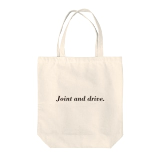 Joint and drive. Tote bags