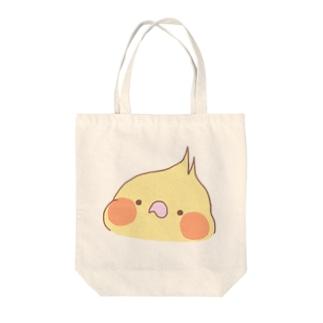 ぴよ助のお店の顔面とりさん Tote bags
