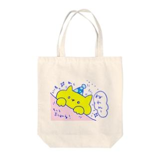 picnicにゃんこ Tote bags
