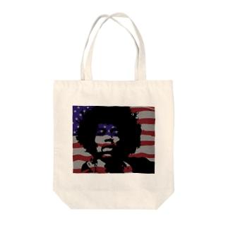 ジミヘン Tote bags