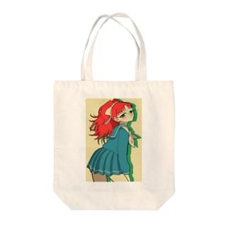 セーラーガール Tote bags