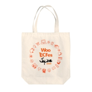 Woo EC Fesトートバッグ Tote bags