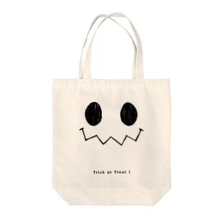 ハロウィンスマイル Tote bags