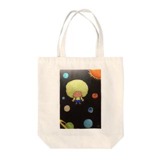 アフロ宇宙 Tote Bag