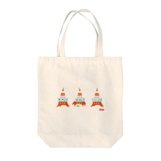 Wooofyのたわーくん Tote bags