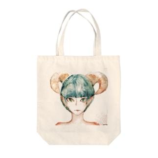 もぐ子 Tote bags