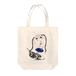 宇宙☆海月のこころがいたむトートバッグ Tote bags