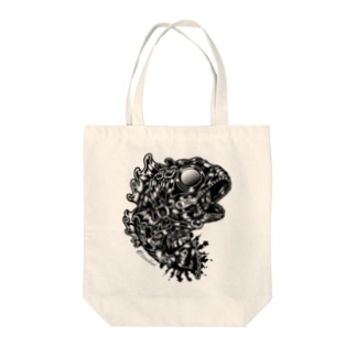 "Animalia Kinky "" Black Bass "" Tote bags"